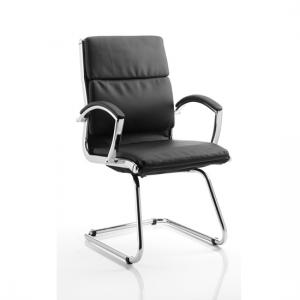 Classic Black Cantilever Office Chair