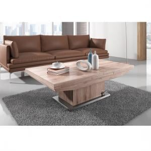 Elgin Extendable Coffee And Dining Table In Sonoma Oak_2