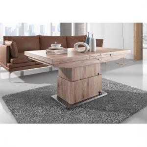 Elgin Extendable Coffee And Dining Table In Sonoma Oak_4