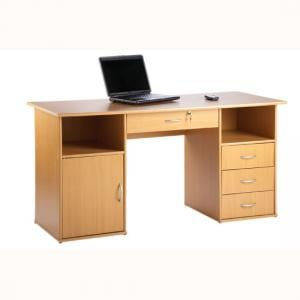 Croft Computer Work Station In Beech Effect