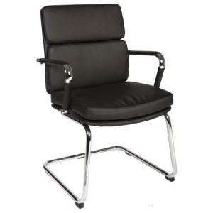 Deco Visitor Retro Eames Style Black Chair