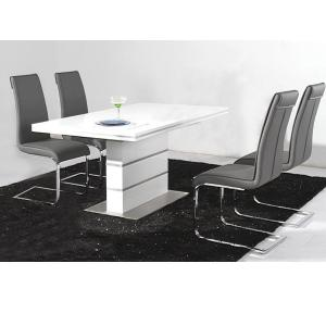 Dolores High Gloss Dining Table Set