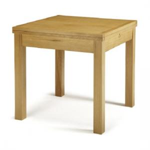 Darcey Extendable Dining Table Square In Solid Oak