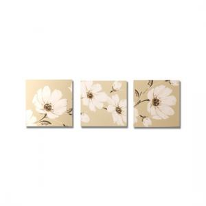 Set of 3 Floral Trail Trio printed canvas
