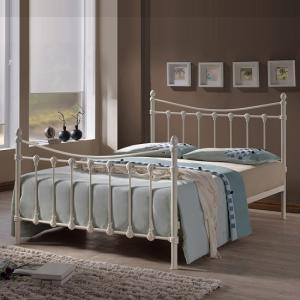 Florida Classic Bed In Ivory Metal