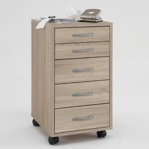 Freddy Modern Canadian Oak Office Cabinet