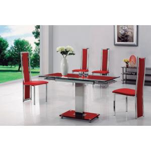glass dining table and 4 chairs uk furniture in fashion Rectangular Glass Dining Table Rectangular Glass Dining Table