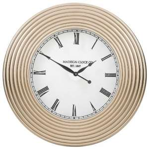 Vaughan Clock In Champagne Finish