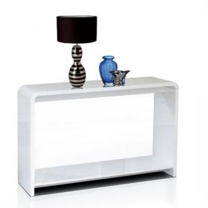 Toscana Console Table In White High Gloss_2