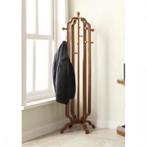 Westo Coat Stand In Walnut With 12 Hooks
