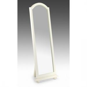Josephine White Standing Bedroom Mirror