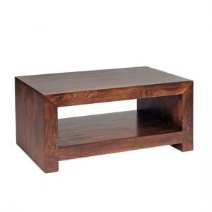 Mango Wood Contemporary Lamp Table