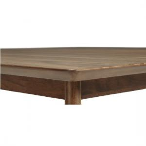 Weinstein Dining Table Square In Solid Walnut_3