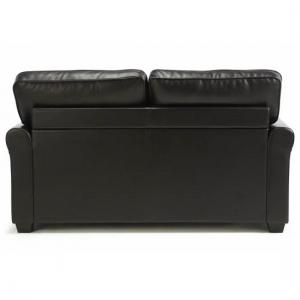 Alyssa Modern Sofa Bed In Brown Faux Leather_3