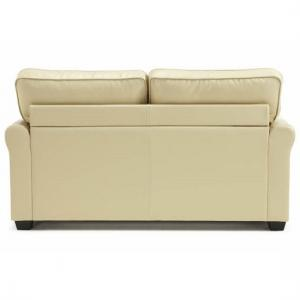 Alyssa Modern Sofa Bed In Cream Faux Leather_3