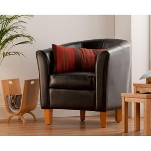 Oxford Black Tub Chair