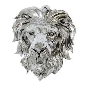 Lion Head Wall Mounted Sculpture