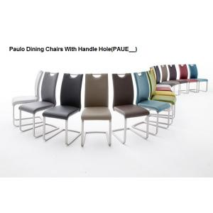Manhattan Glass Dining Table In High Gloss With 8 Paulo Chairs_5