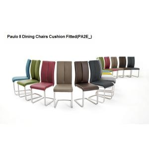 Manhattan Glass Dining Table In High Gloss With 8 Paulo Chairs_7