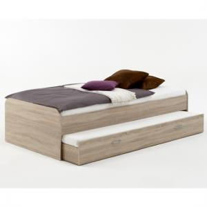 Pedro4 Canadian Oak Bed with Vistor Bed