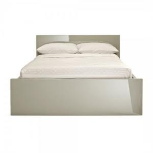 Curio Stone High Gloss Finish Double Bed
