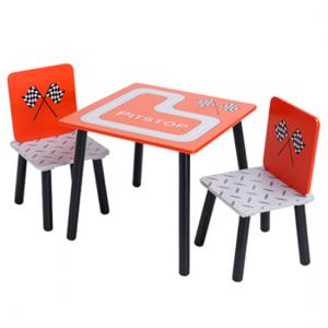 Racing Car Table And 2 Chairs