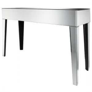 Fabia Rectangular Console Table In Mirror