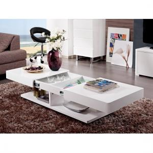 Verona Storage Coffee Table In High Gloss White_4