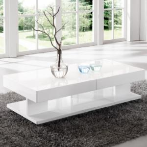 Verona Storage Coffee Table In High Gloss White_2