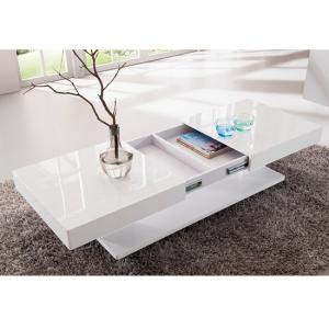 Verona Storage Coffee Table In High Gloss White_6