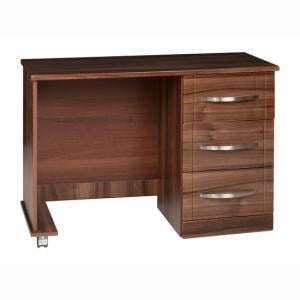 Torino Single Dresser in High Gloss Walnut