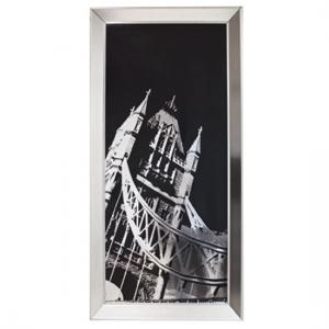 Tower Bridge Metallic Framed Print