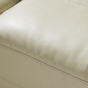 Catalina Modern Sofa Bed In Cream Faux Leather_12