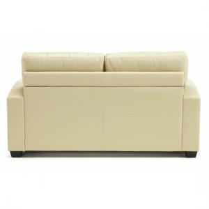 Catalina Modern Sofa Bed In Cream Faux Leather_6