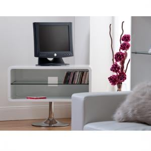 Toscana High Gloss TV Unit In White