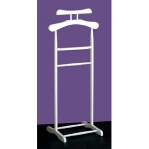Wooden Valet Stand in White
