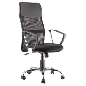 Benzine Home Office Chair In Black Mesh