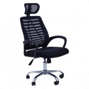Acona Home And Office Chair With Arms In Black