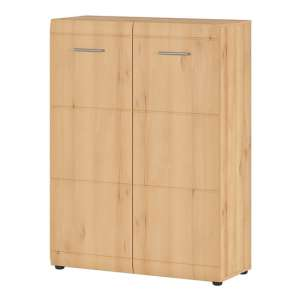 Adrian Shoe Storage Cabinet In Noble Beech