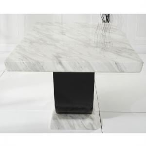Allie Marble Dining Table Rectangular In Cream And Black_5
