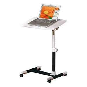 Alexis Wooden Laptop Desk In Glossy White