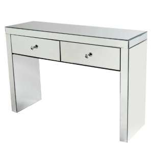 Alfredo Modern Mirrored Rectangular Console Table
