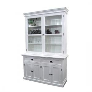 ... Allthorp Solid Wood Glass Display Cabinet In White With 6 Doors_2 ... Part 98