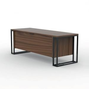 modern wood tv stand. altino contemporary tv stand in walnut with metal frame_1 modern wood tv
