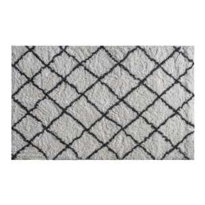 Andes Small Fabric Upholstered Rug In Cream