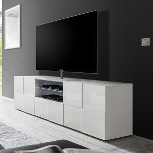 gloss tv stand gloss tv unit cabinets furniture in. Black Bedroom Furniture Sets. Home Design Ideas