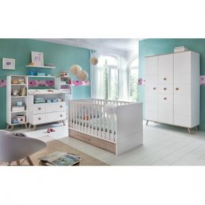 Avira Childrens Changer Drawers Chest In Alpine White And Oak_2