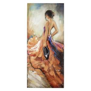 Barefoot Tango Picture Metal Wall Art In Multicolor