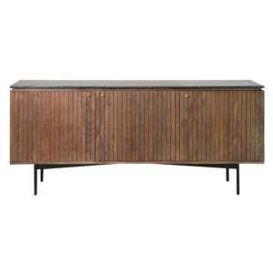 Bari Wooden Sideboard With 3 Doors