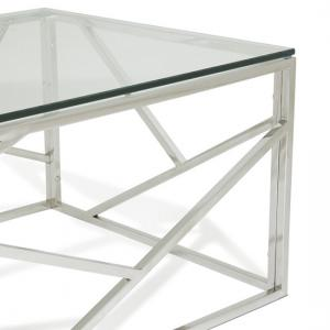 ... Betty Glass Coffee Table With Polished Stainless Steel Base_5 ...